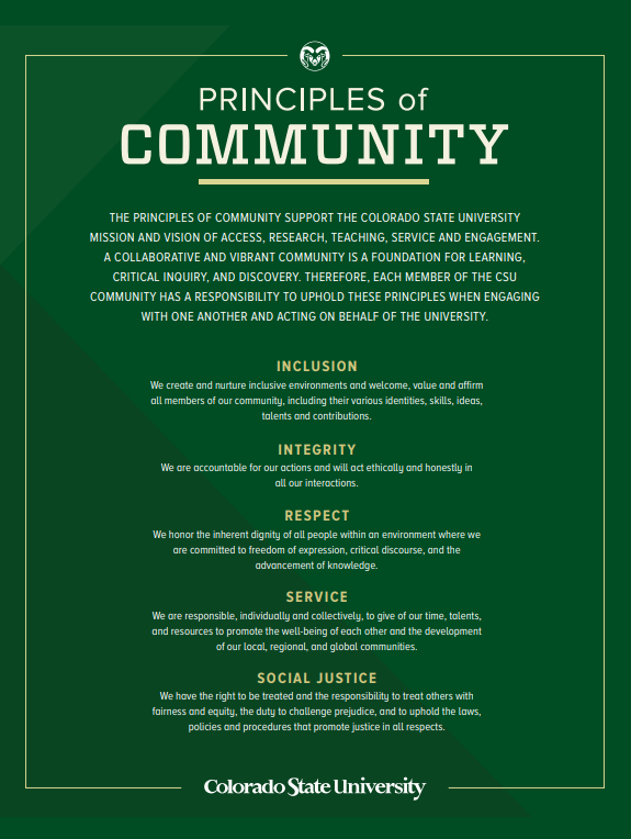 Principles of Community
