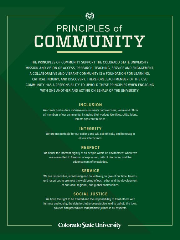 Principles of Community